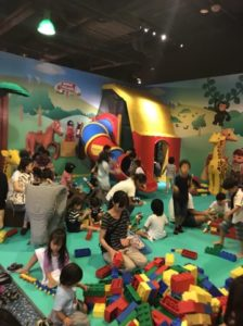 デュプロビレッジ レゴランド東京 館内 小さい子の遊び場
