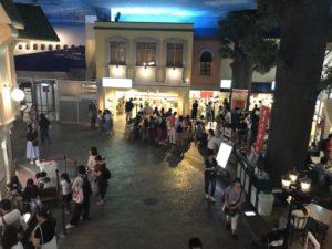 キッザニア東京 ららぽーと豊洲 館内 モスバーガー方面