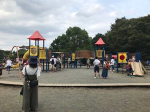 相模原 麻溝公園 小さい子用 公園