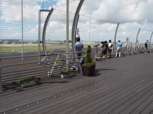 羽田空港 第二ターミナル 展望デッキ 二階