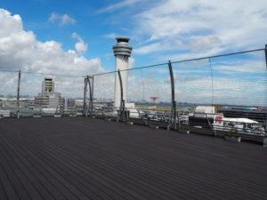 羽田空港 第二ターミナル 展望デッキ 管制塔