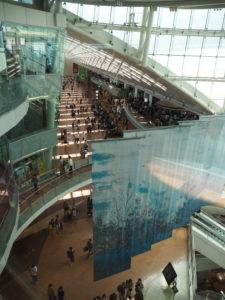 羽田空港 第一ターミナル エレベーター