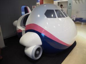 羽田空港 シュミレーター 小型飛行機