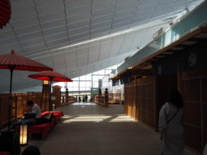 羽田空港 国際線旅客ターミナル 京都風