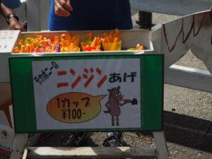 麻溝公園 ポニー にんじんあげ売り場