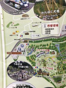 小田原わんぱくらんど 拡大地図