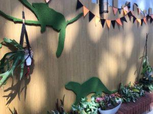 八景島シーパラダイス 水族館内 ハロウィン仕様 壁面