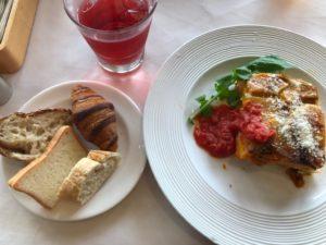 トゥエンティーフォーセブンレストラン カボチャのラザニア