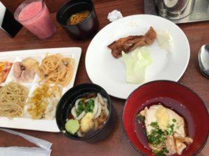 ブッフェレストラン プレート 和食