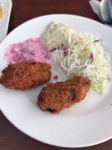 ブッフェレストラン 牡蠣フライ