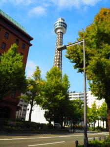 横浜 マリンタワー 外観
