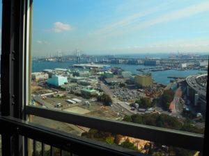 マリンタワーから 横浜ベイブリッジ