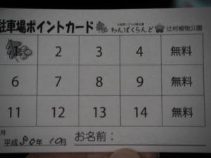 小田原わんぱくらんど 駐車場 ポイントカード