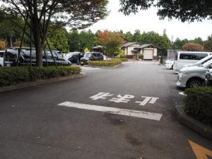 小田原わんぱくらんど 第二駐車場 場内