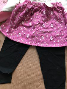 レギンス付きスカート マイメロ
