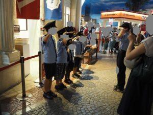 キッザニア東京 警察署 パトロール