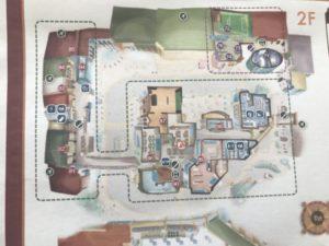 キッザニア東京 2階配置図