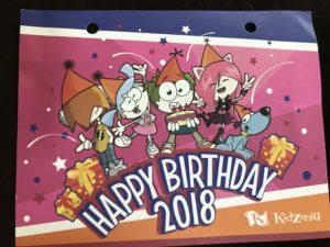 キッザニア東京 お誕生カード 表
