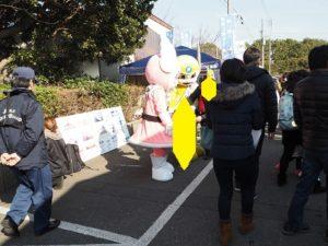 金沢漁港 海産物フェスタ 着ぐるみ
