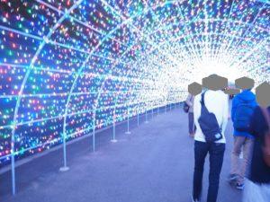 よみうりランド 光のトンネル