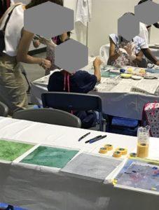 かながわおしごと・技能体験フェスタ オリジナル下敷き