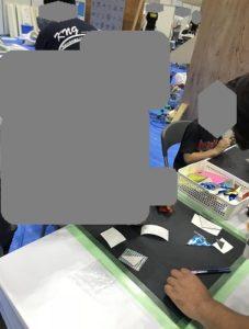 かながわしごと・技能体験フェスタ パズル製作