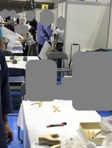 かながわしごと・技能体験フェスタ 木工おもちゃ