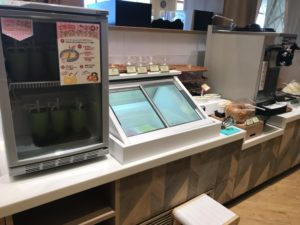 くし葉 デザートコーナー アイス みなとみらい店
